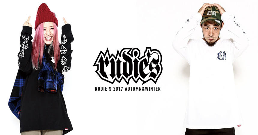 RUDIE'S,SILLENT FROM ME 再入荷!
