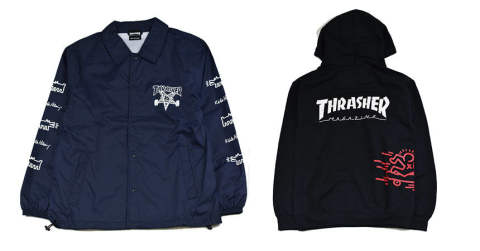 THRASHER×KEITH HARING!