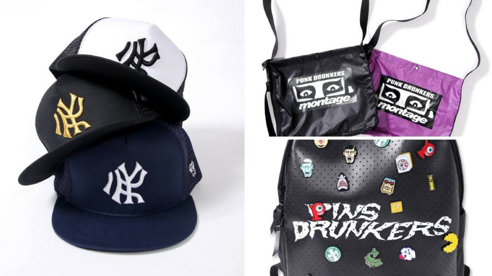 PUNKDRUNKERS SUMMER COLLECTION (BAG,CAP編)