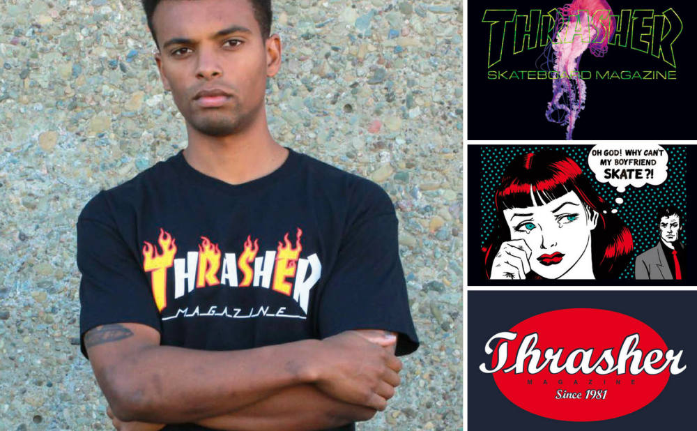 THRASHER IMPORT SS COLLECTION!