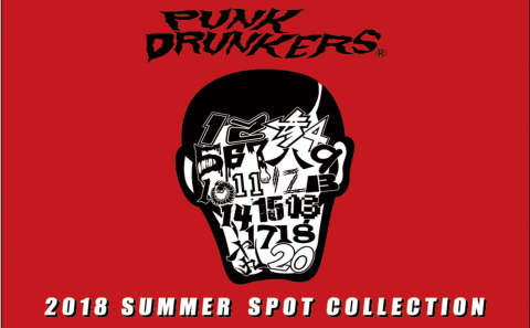 PUNKDRUNKERS SUMMER SPOT COLLECTION!