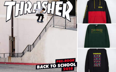 THRASHER IMPORT 新作!