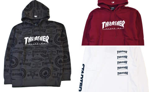 THRASHER×STARTER BLACK LABEL!