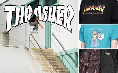 THRASHER IMPORT HOLIDAY♪