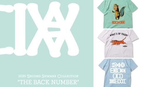 "《ANIMALIA》 second summer  ""THE BACK NUMBER"" COLLECTION"