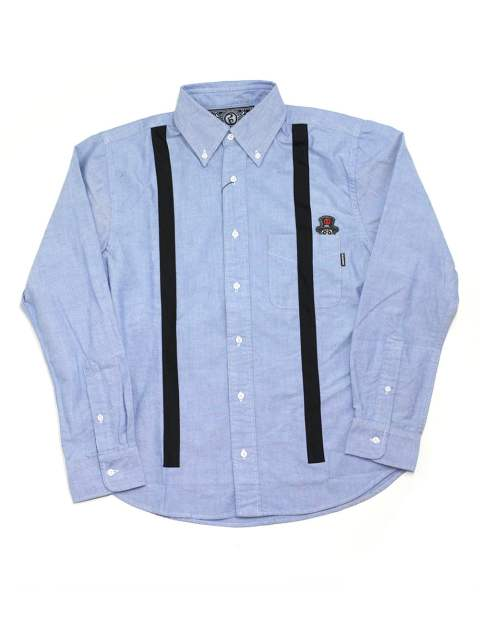 SUSPENDERS OXFORD SHIRT