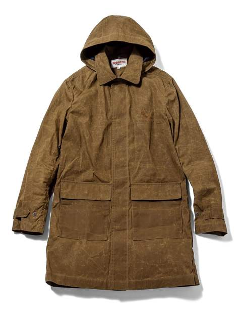 Rustic Coat-Paraffin