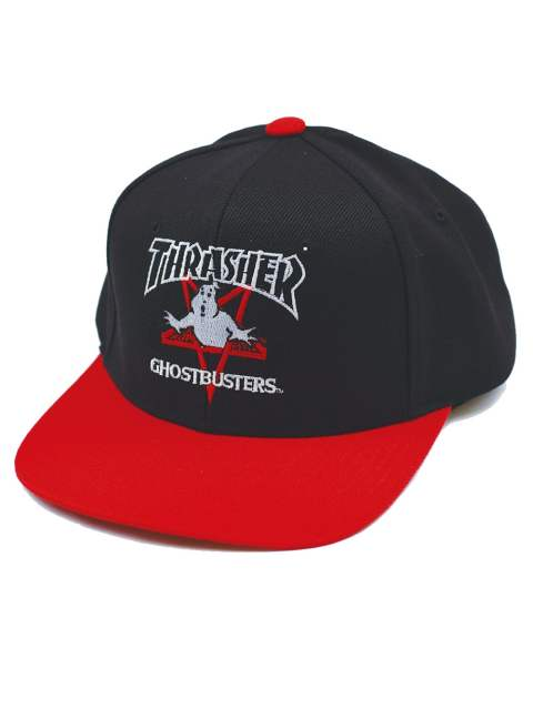 THRASHER×GHOSTBUSTERS CAP