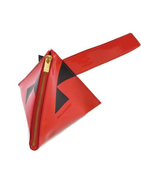 MU PYRAMID CLUTCH-BAG
