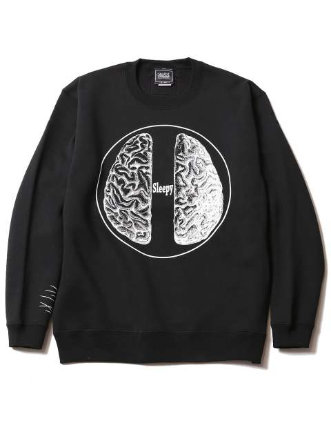 BRAIN -Crew Sweat-