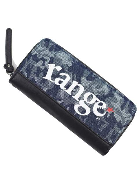 range long camo wallet