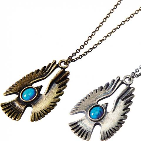METAL NECKLACE -HAWK-