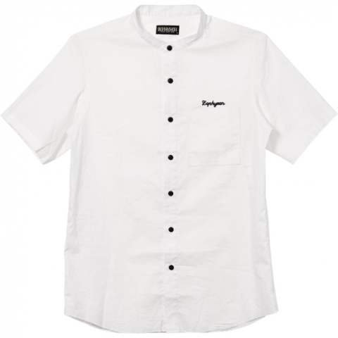 STAND COLLAR SHIRT S/S -Resolve-