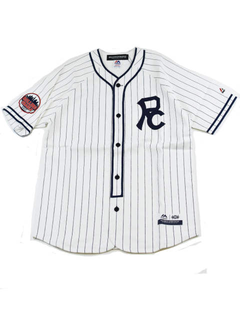 RC×MAJESTIC BASEBALL SHIRT -CLASSIC-