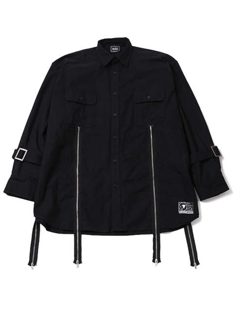 MALCOLM -Zip Wide Shirts-