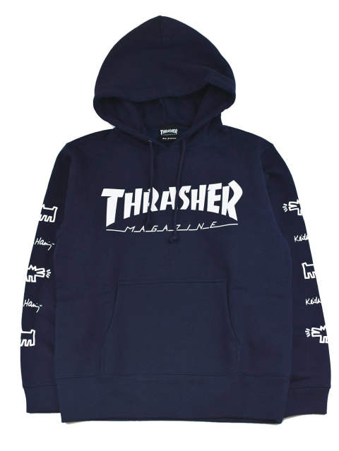 THRASHER×KEITH HARING HOODIE (10.0oz)
