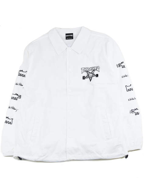THRASHER×KEITH HARING COACH JKT