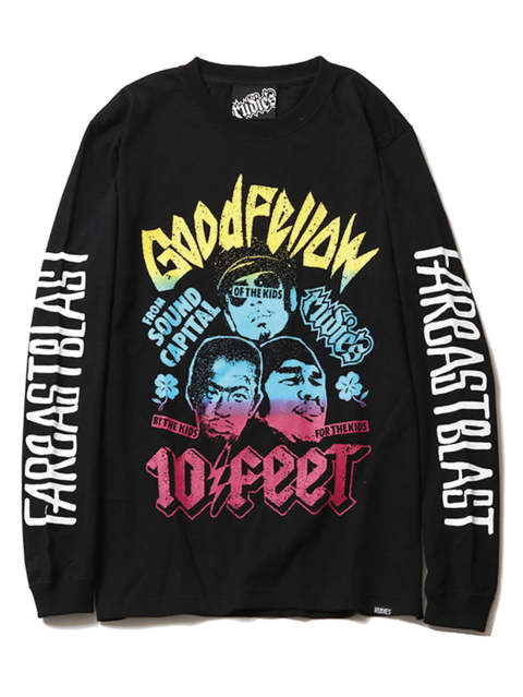 10-FEET x RUDIE'S GOOD FELLOWS L/S-TEE