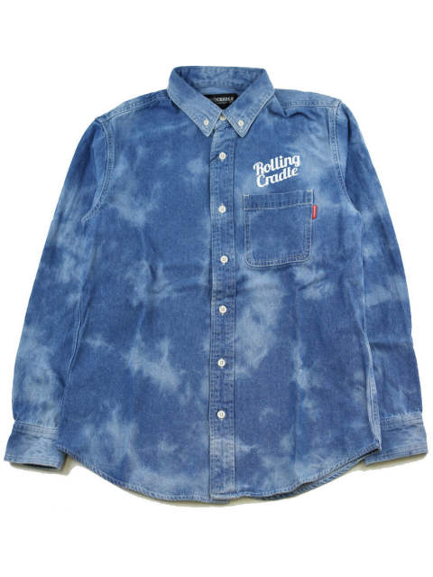BIG SHOUT DENIM-SHIRT