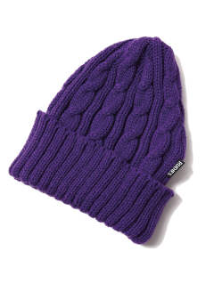 WASTE CABLE KNIT-CAP