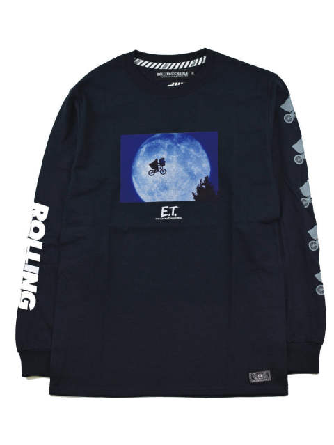 RCxE.T. MOON LIGHT LONG T-SHIRT