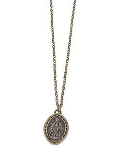 METAL NECKLACE -Guadalupe-