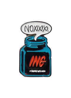 INC BOTTLE pin / plain bottle