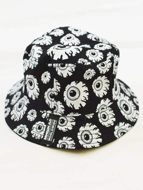 KEEP WATCH ALLOVER BUCKET-HAT