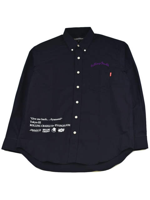 "RCxEVANGELION BIG SHIRT ""Give me back… …Ayanami!"""