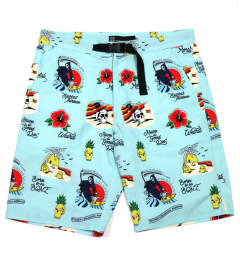 WEIRD BEACH ALOHA-SHORTS