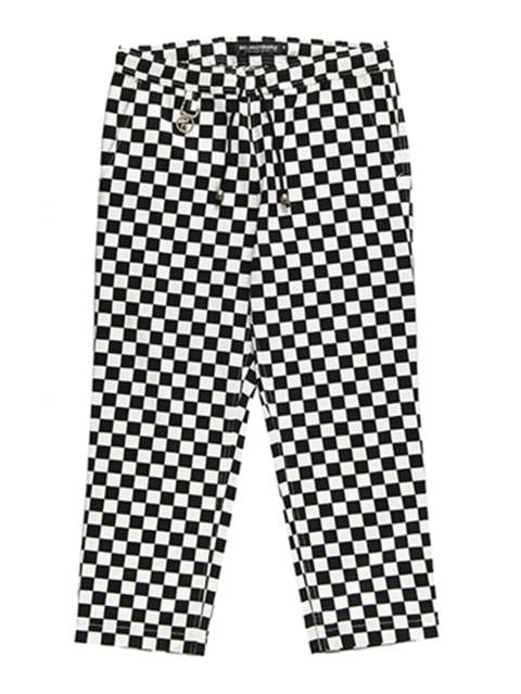 RC CHECKER WIDE-PANTS