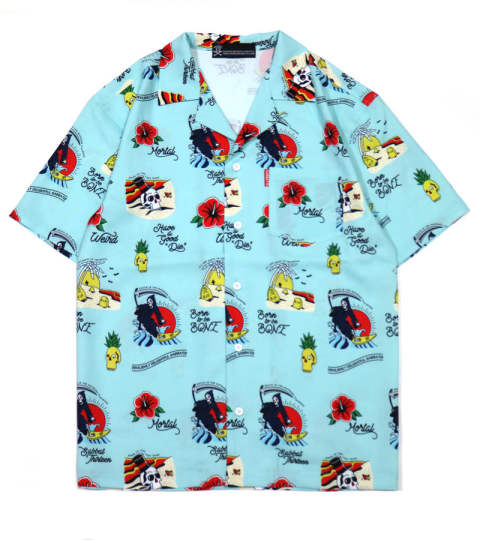 WEIRD BEACH ALOHA-SHIRTS