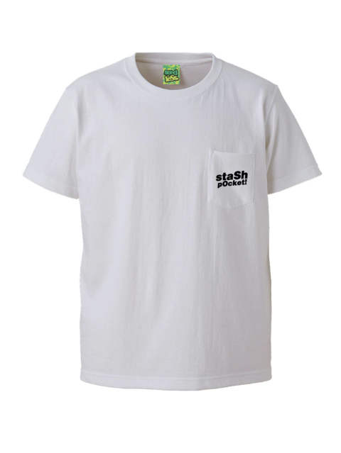 stash pocket ! s/s T shirts