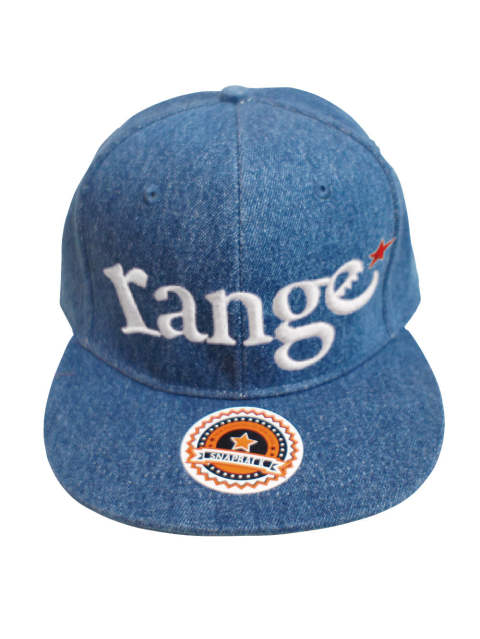 rg New Hattan denim snap back cap