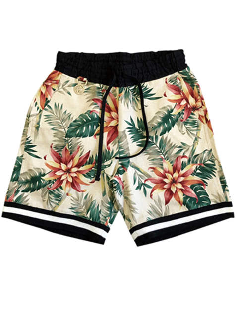 FLORAL-SHORTS