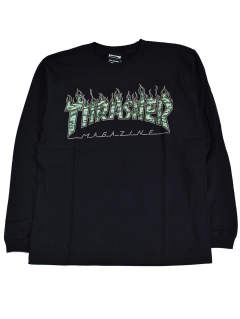 TIGER FLAME CAMO L/S TEE