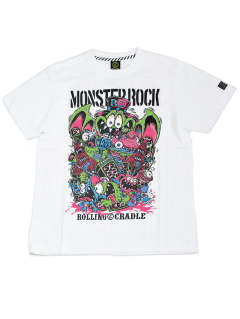 ROLLING CRADLE×MONSTER ROCK COLLABORATION T-SHIRT  10th ANNIVERSARY ALL STARS PARTY