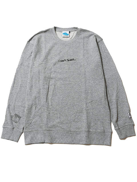 I CAN'T SLEEP [ CREW SWEAT ]