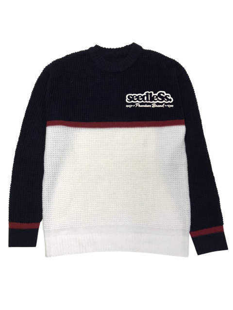 sd 2 tone color knit