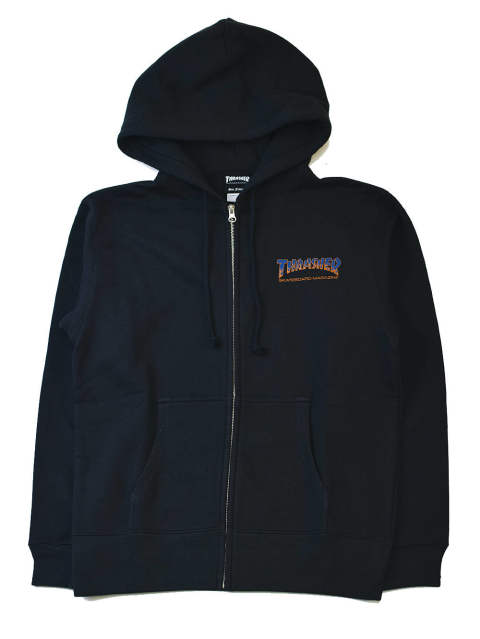 BBQ ZIP-HOOD SWEAT
