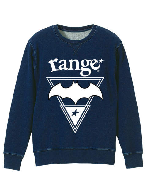 rg indigo lover crew sweat