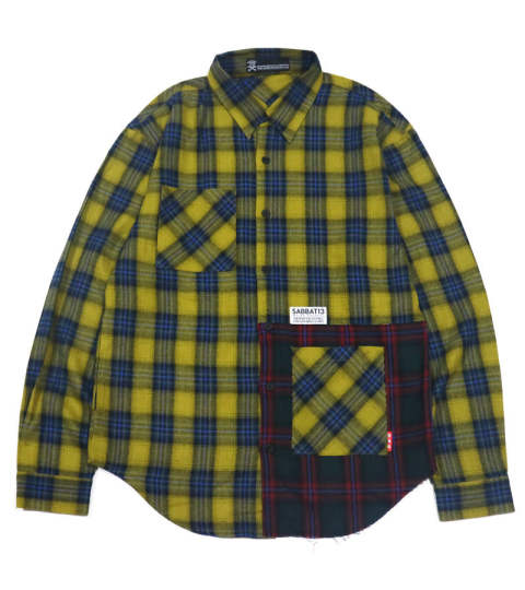 WITCH CRAFT CHECK-SHIRTS