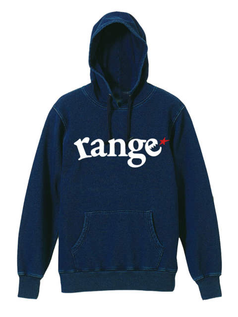 rg indigo lover hoody sweat