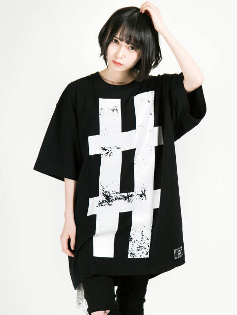 Big Hashtag〝#〟 T-shirt