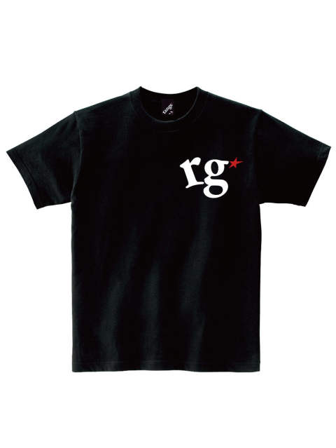 rg logo with big star s/s tee