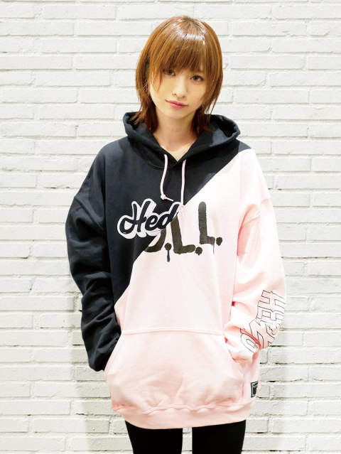 【 DOLL×HEDWiNG】Cross Cut Hoodie