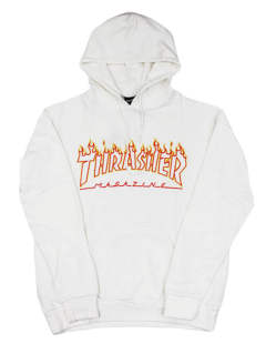 FLAME OUTLINE US COTTON-HOODIE