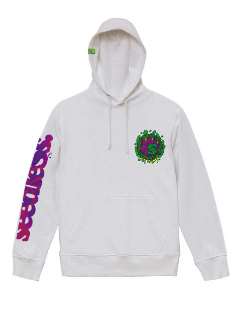 sd fluorescence leaf hoody