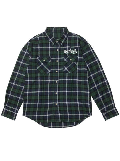 sd raised check nel shirts