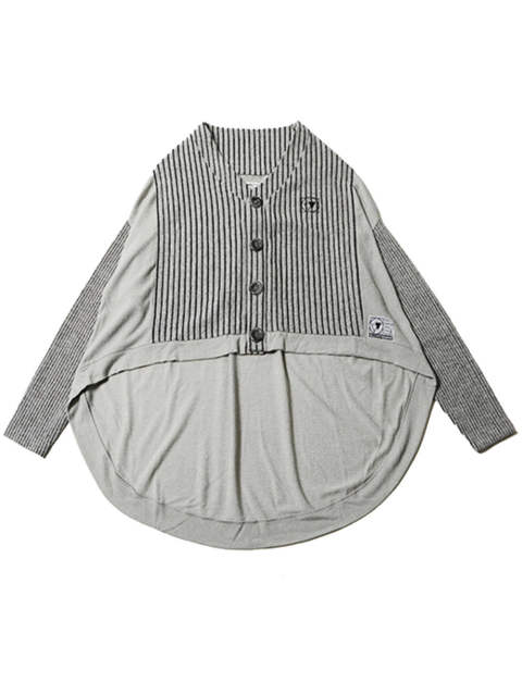 COCOON -Switched Knit Cardigan-